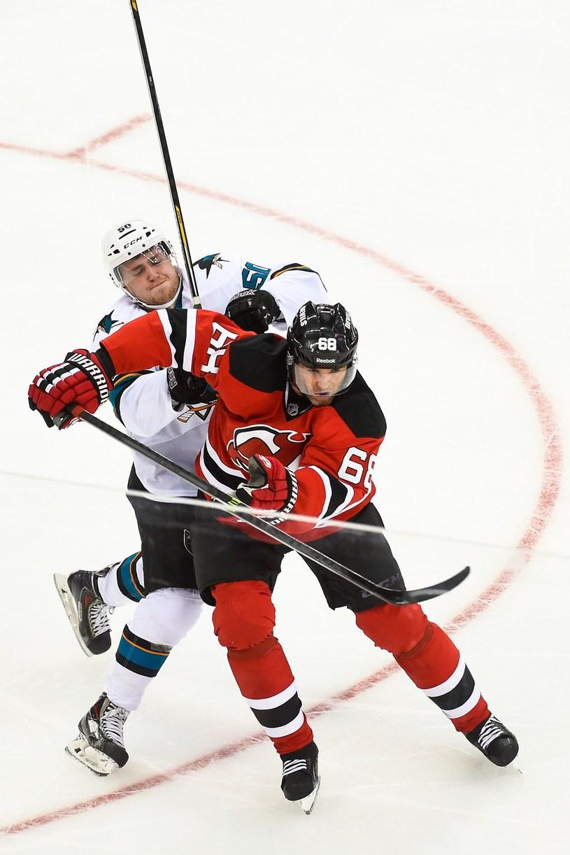Jaromir Jagr, hokeista New Jersey Devils /AFP