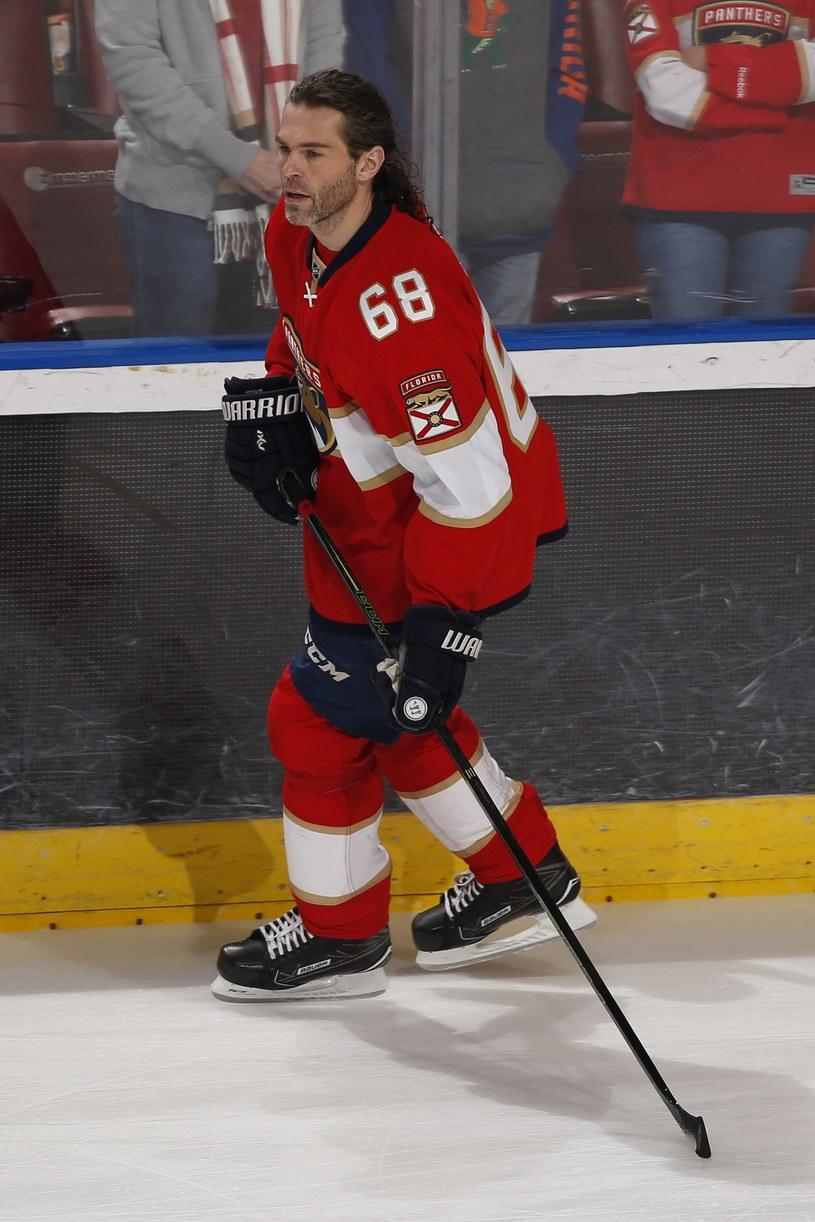 Jaromir Jagr zdobył 752. gola w NHL /AFP