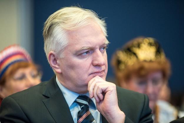 Jarosaw Gowin, wiceprezes Rady Ministrów, minister nauki i szkolnictwa wyższego. Fot. Łukasz Piecyk /Reporter