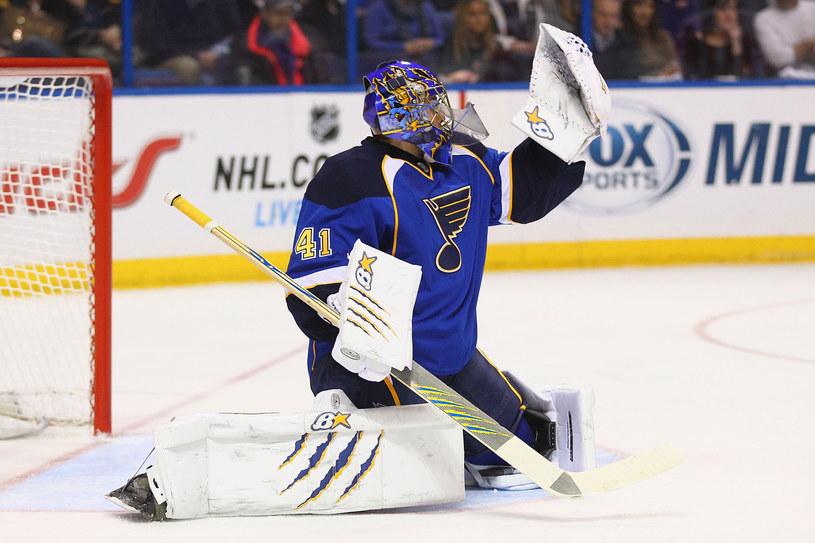 Jaroslav Halak, bramkarz St. Louis Blues /AFP