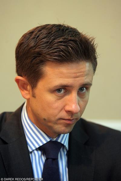 Jarosław Augustyniak, prezes  Idea Banku. Fot. Darek Redos /Reporter