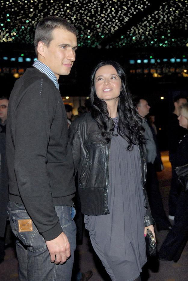 Jarosław Bieniuk i Anna Przybylska /MWMedia