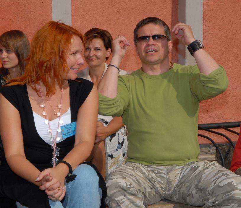 Jarosław Boberek z żoną Iloną /Andras Szilagyi /MWMedia