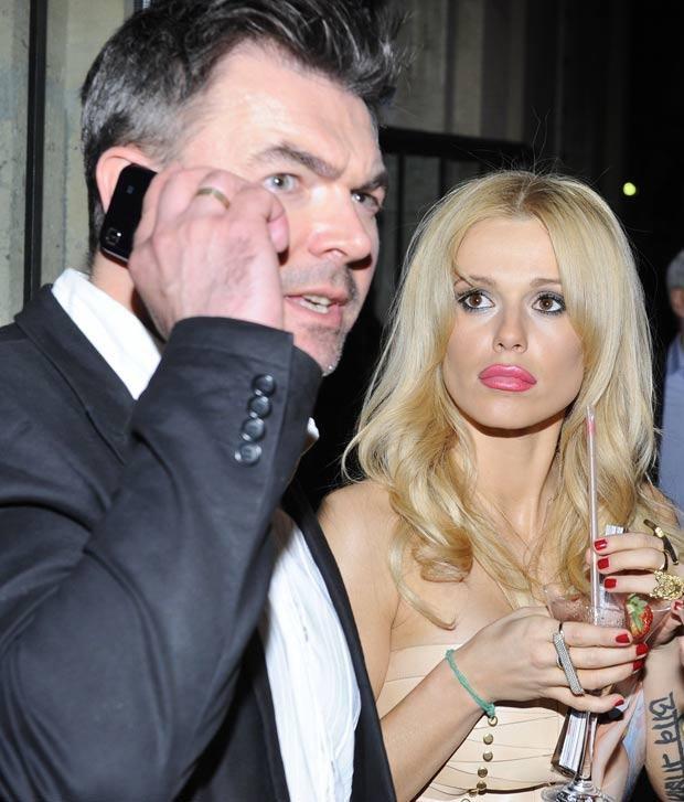 Jarosław Burdek i Doda, fot. Jarosław Antoniak  /MWMedia