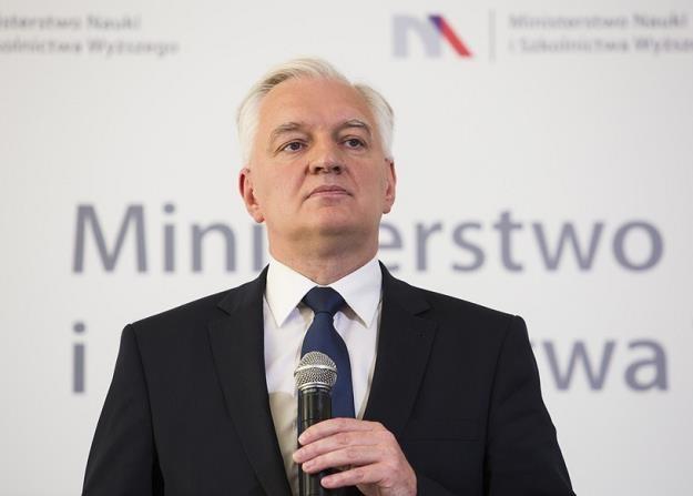 Jarosław Gowin /Andrzej Hulimka /Reporter /Reporter