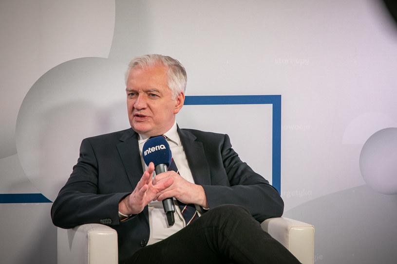 Jarosław Gowin, były premier i szef resortu rozwoju. /Ireneusz Rek /INTERIA.PL