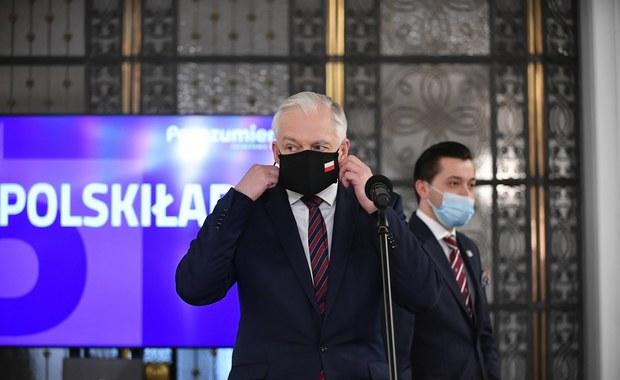 """Jarosław Gowin dla """"Rz"""": Rządy z Lewicą to koniec koalicji"""