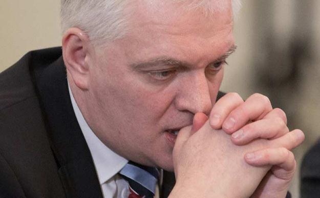 Jarosław Gowin/fot. Andrzej Iwańczuk /Reporter