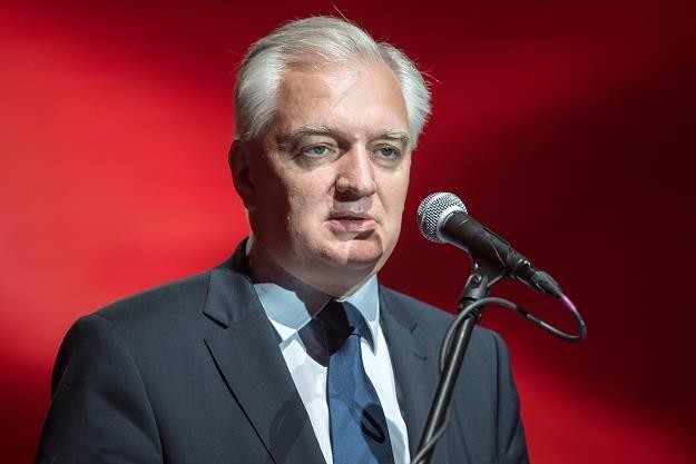 Jarosław Gowin /fot. Łukasz Piecyk /Reporter