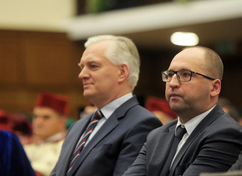 Jarosław Gowin i Adam Bielan /Jan Bielecki /East News