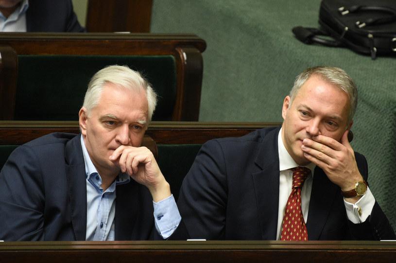 Jarosław Gowin i Jacek Żalek /fot. Jacek Dominski/REPORTER /East News