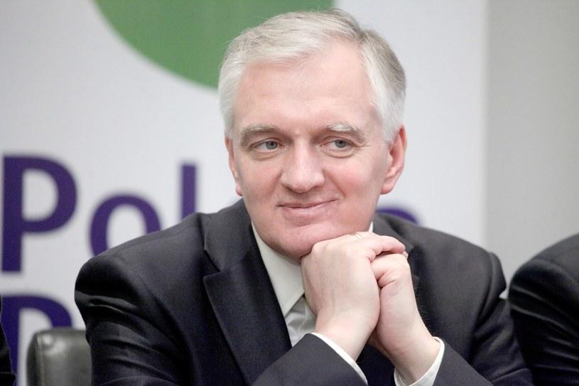 Jarosław Gowin, lider partii Polska Razem. /Dariusz Ossowski /Reporter