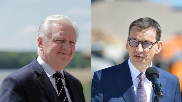 Jarosław Gowin, Mateusz Morawiecki /Tomasz Waszczuk, Marcin Obara /PAP