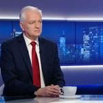 Jarosław Gowin: Moja dymisja jest de facto końcem Zjednoczonej Prawicy