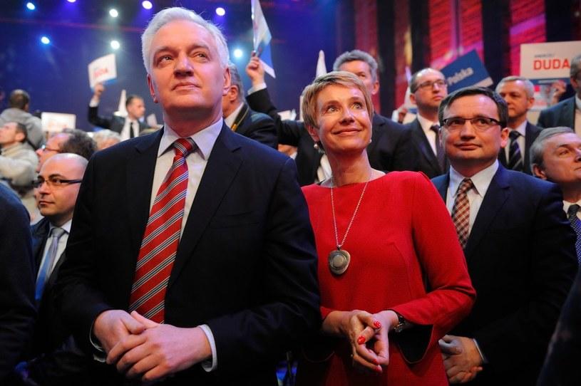 Jarosław Gowin na konwencji wyborczej Andrzeja Dudy /Bolesław Waledziak /East News