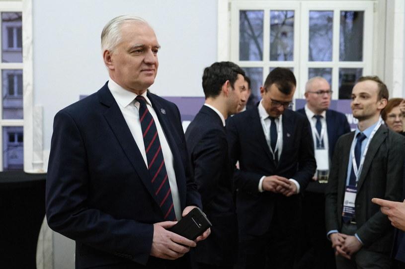 Jarosław Gowin na tweetupie Porozumienia /Mateusz Marek /PAP