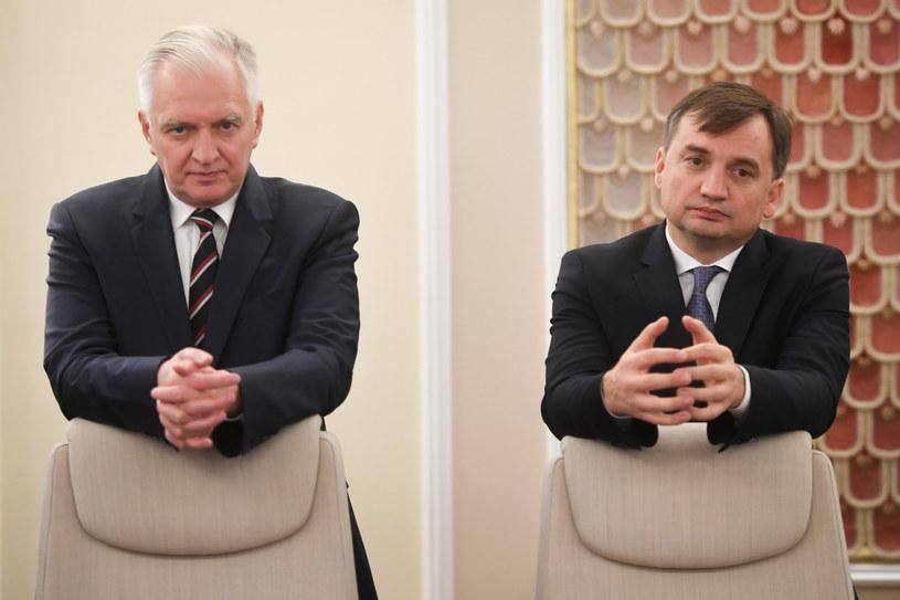 Jarosław Gowin o reformie sądownictwa: Mamy zupełnie odmienne podejście z panem ministrem Ziobrą /Jacek Domiński /Reporter