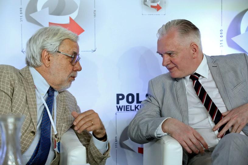 Jarosław Gowin oraz prof. Jean Pierre Lasota /Rafał Guz /PAP