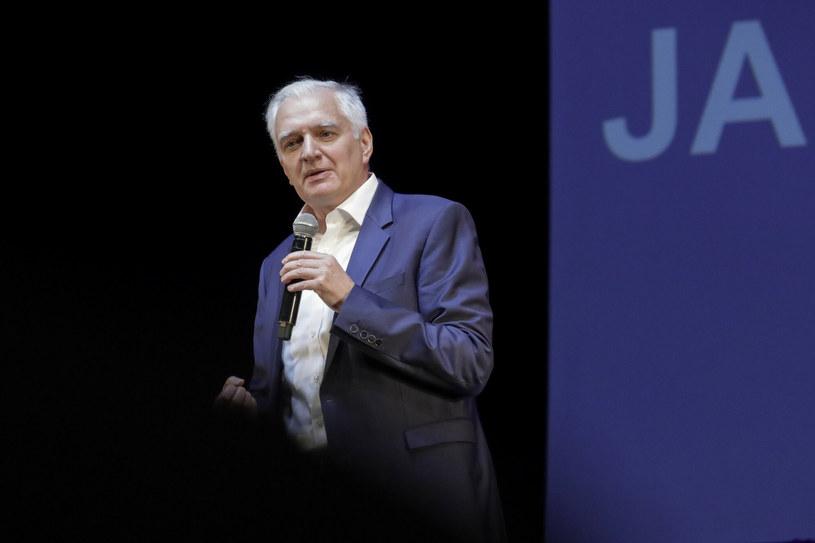 Jarosław Gowin podczas konwencji Porozumienia Młodych /Grzegorz Banaszak/REPORTER /East News