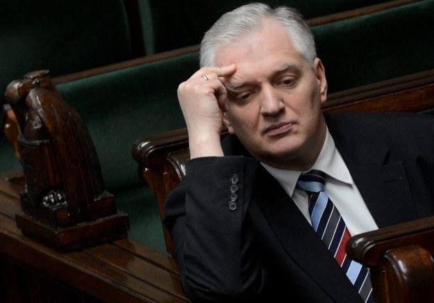 Jarosław Gowin skrytykował w liście kolegów z partii /Bartłomiej Zborowski /PAP