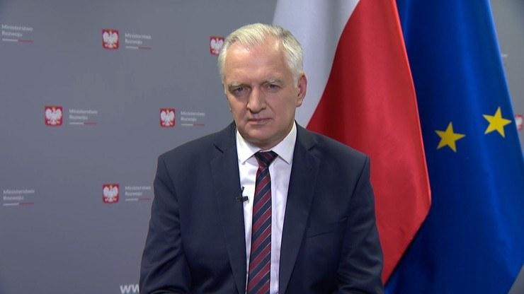 """Jarosław Gowin w """"Gościu Wydarzeń"""" /Polsat News"""