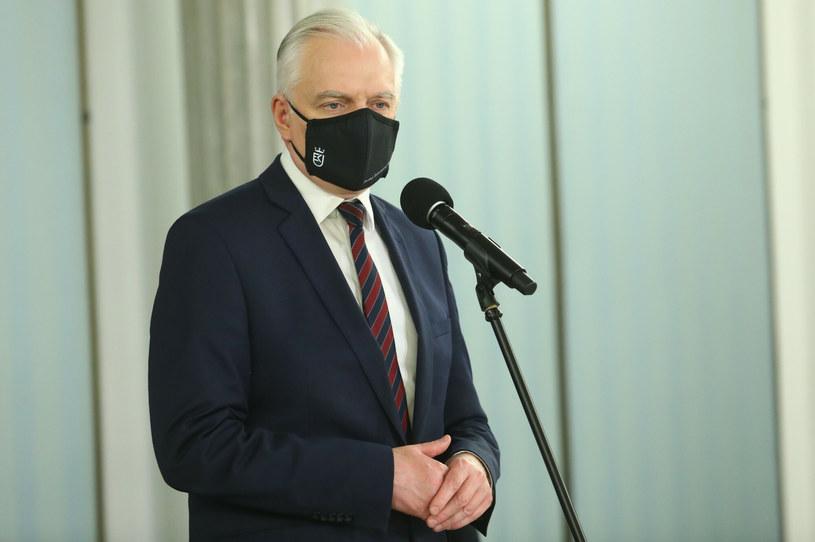 Jarosław Gowin, wicepremier i minister rozwoju /Tomasz Jastrzębowski /Reporter