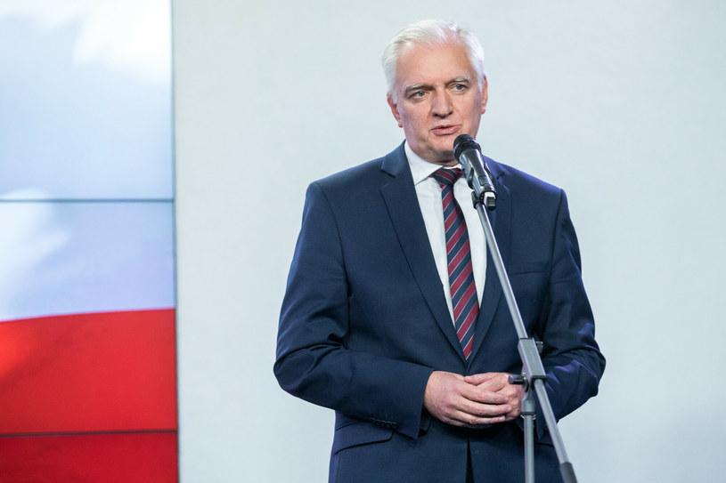 Jaroslaw Gowin, wicepremier i szef resortu rozwoju /Andrzej Iwańczuk /Reporter