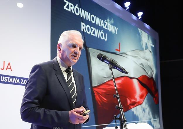 Jarosław Gowin, wicepremier, minister nauki i szkolnictwa wyższego. Fot. Paweł Supernak /PAP