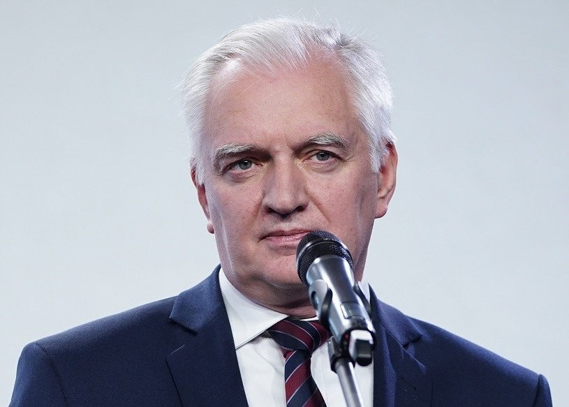 Jarosław Gowin, wicepremier, minister rozwoju, pracy i technologii /Mateusz Włodarczyk /Agencja FORUM