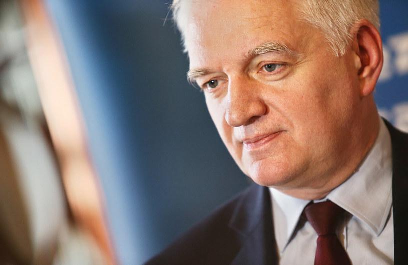 Jarosław Gowin, wicepremier; minister rozwoju, pracy i technologii. /Damian Klamka /East News