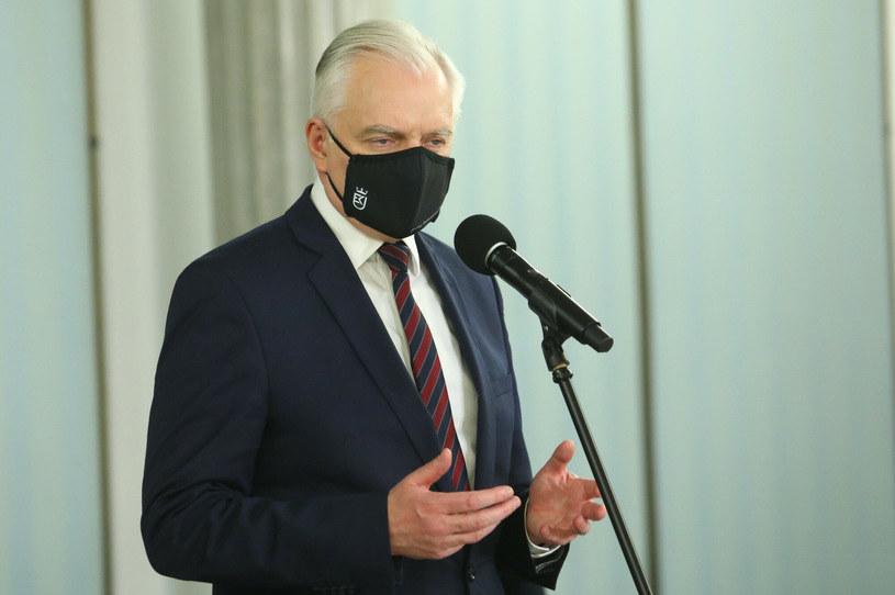 Jarosław Gowin, wicepremier, minister rozwoju, pracy i technologii /Tomasz Jastrzębowski /Reporter