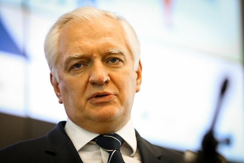 Jarosław Gowin, wicepremier, minister rozwoju, pracy i technologii /Bartłomiej Wójtowicz /Reporter