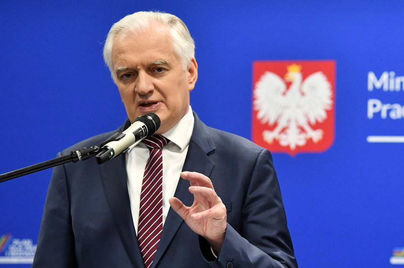 Jarosław Gowin, wicepremier, minister rozwoju, pracy i technologii /Radek  Pietruszka /PAP
