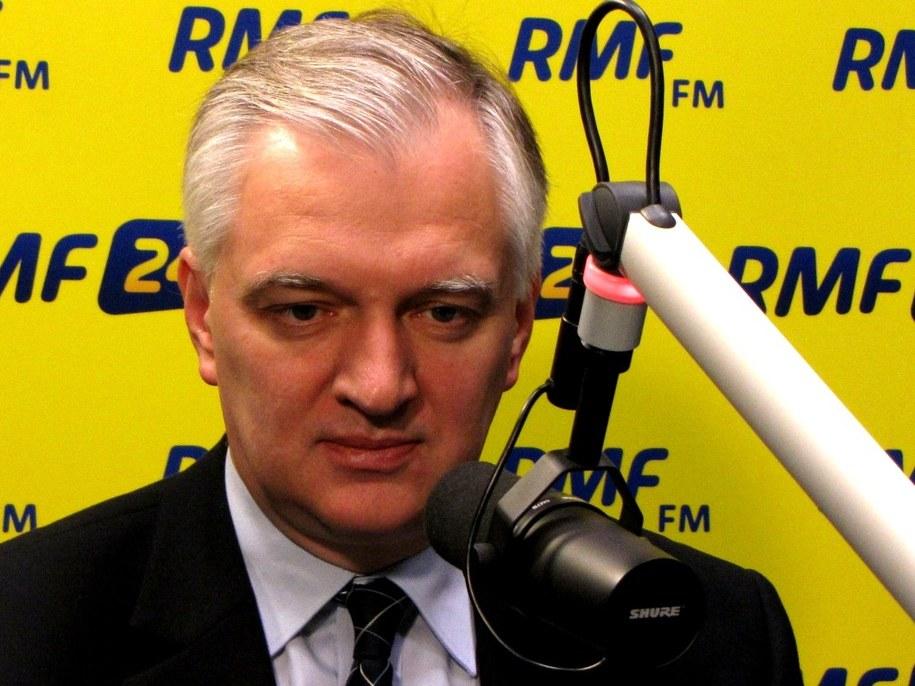 Jarosław Gowin /Olga Wasilewska /Archiwum RMF FM