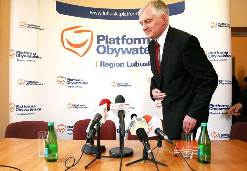 Jarosław Gowin /Lech Muszyński /PAP
