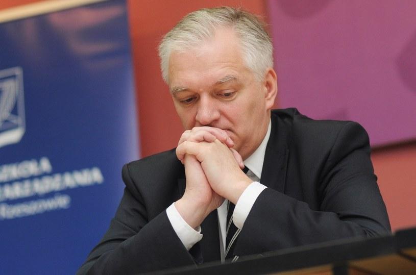 Jarosław Gowin /Piotr Charchuła /Reporter