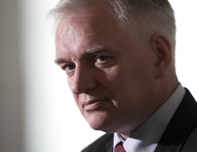 Jarosław Gowin. /Andrzej Iwańczuk /Reporter