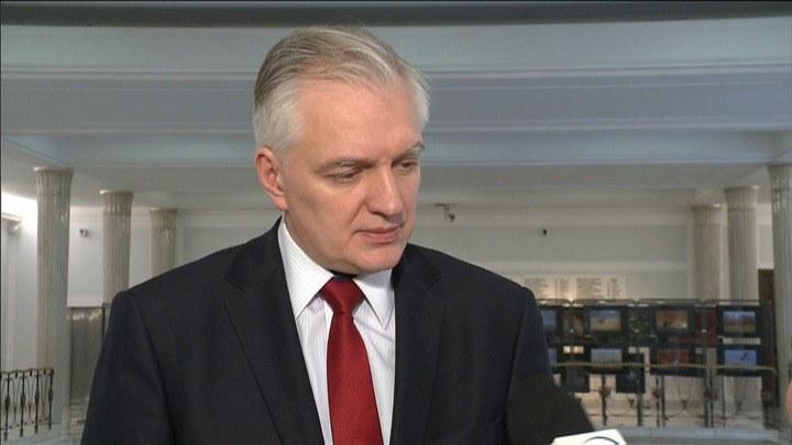 Jarosław Gowin. /TVN24/x-news