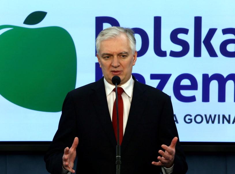 Jarosław Gowin /Tomasz Gzell /PAP