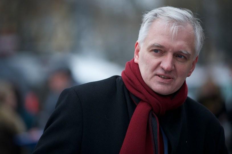 Jarosław Gowin /Lukasz Szelag /Reporter