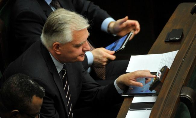 Jarosław Gowin /PAP/Bartłomiej Zborowski /PAP