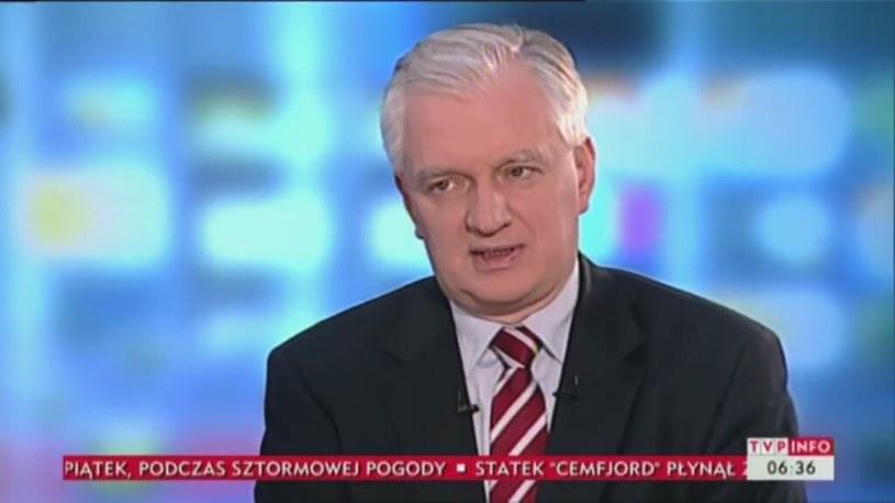 Jarosław Gowin /TVP/x-news