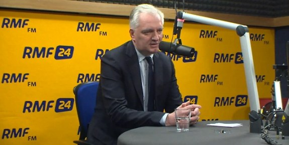 Jarosław Gowin /RMF