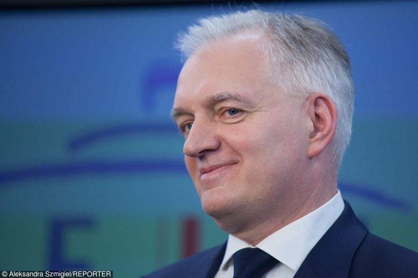 Jarosław Gowin /Aleksandra Szmigiel-Wiśniewska /Reporter