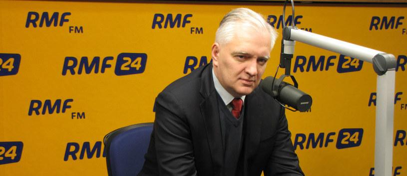Jarosław Gowin /RMF24.pl