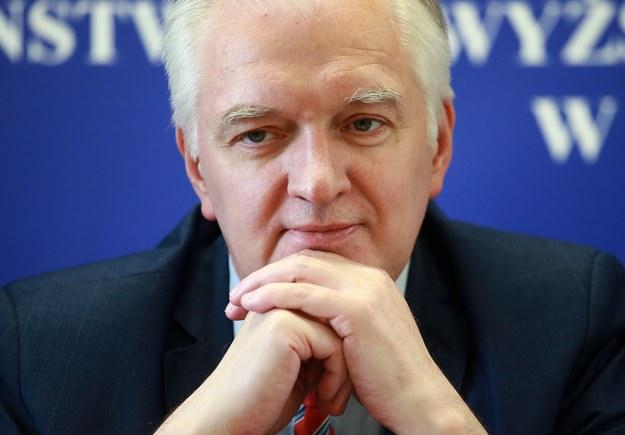 Jarosław Gowin /Marcin Bednarski /PAP