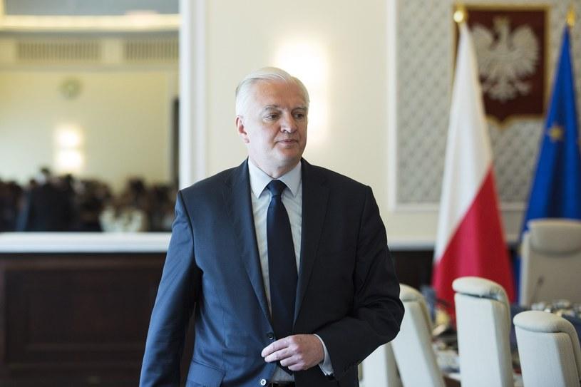 Jarosław Gowin /Andrzej Hulimka  /Reporter