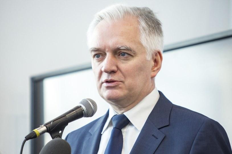 Jarosław Gowin /Grzegorz Bukala /Reporter