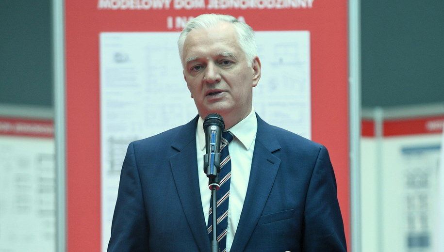 Jarosław Gowin /Jacek Turczyk /PAP