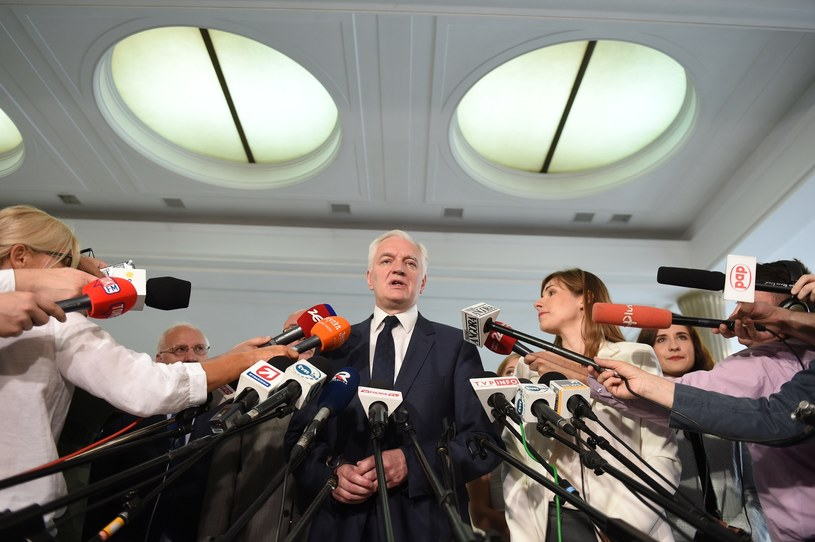 Jarosław Gowin / Jacek Domiński /Reporter